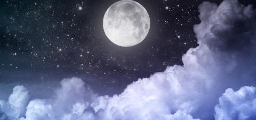 ночь меня встречала лунным караваем